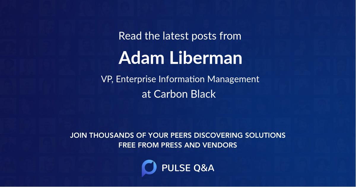 Adam Liberman