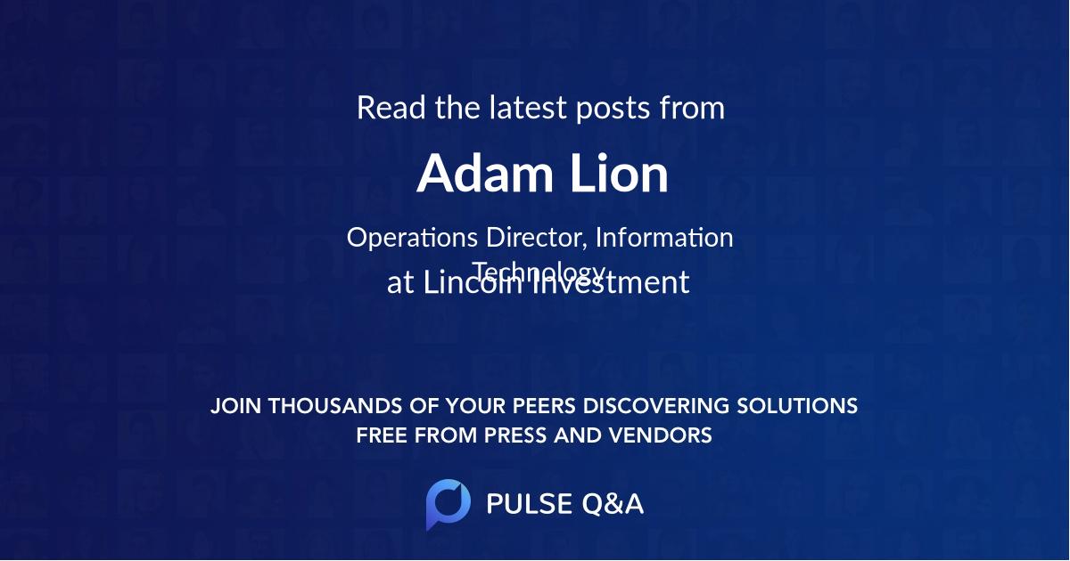 Adam Lion
