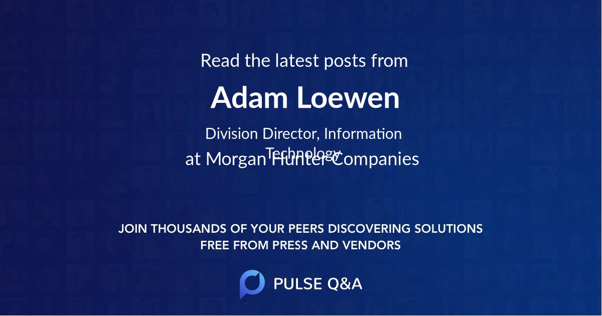 Adam Loewen