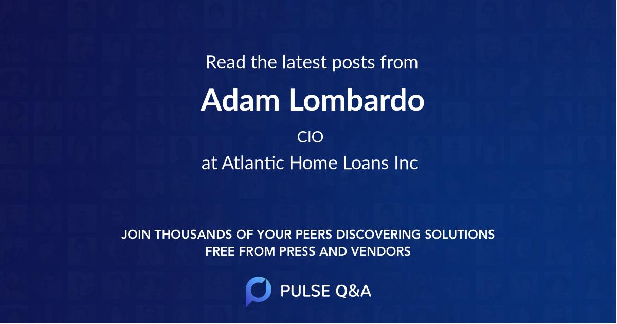 Adam Lombardo