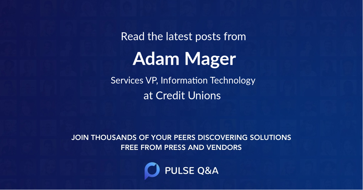 Adam Mager