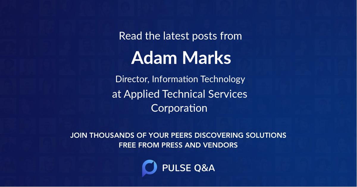 Adam Marks