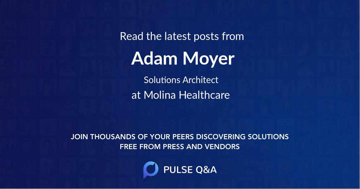 Adam Moyer