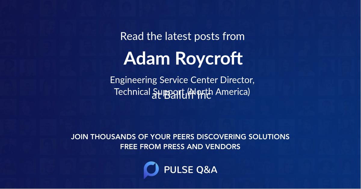 Adam Roycroft