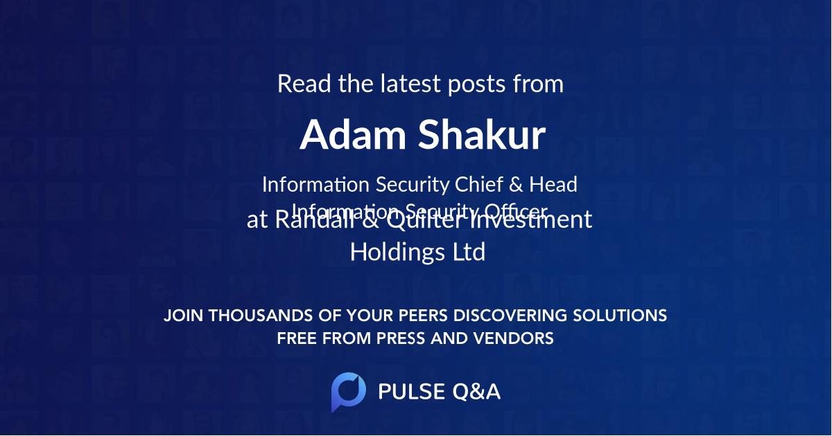 Adam Shakur