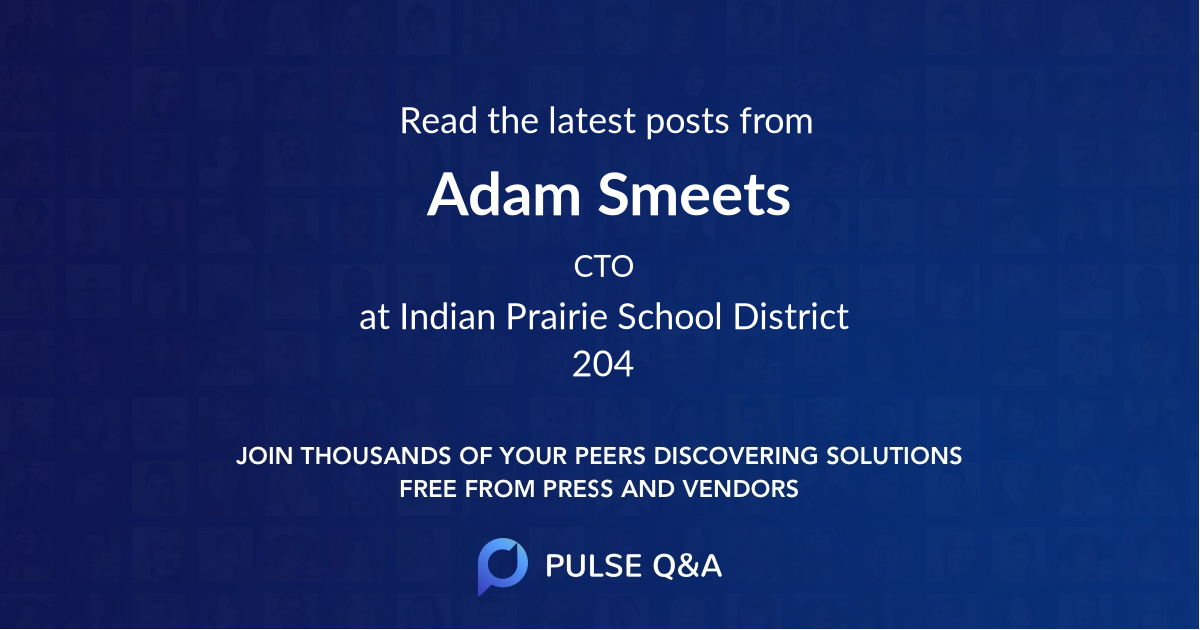 Adam Smeets