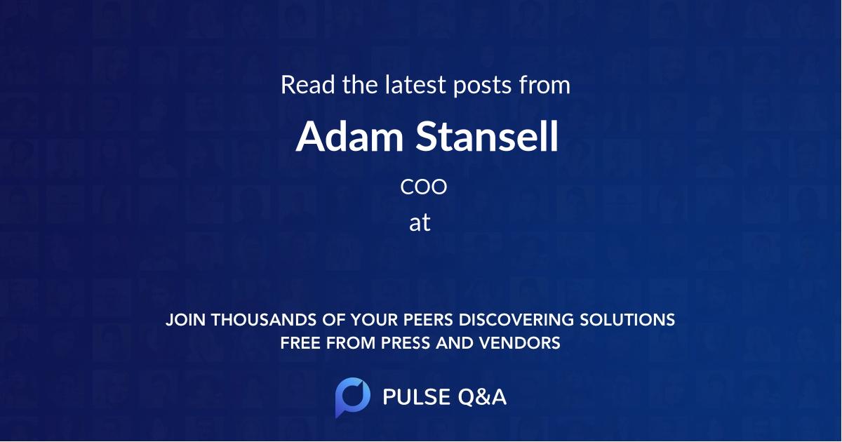 Adam Stansell