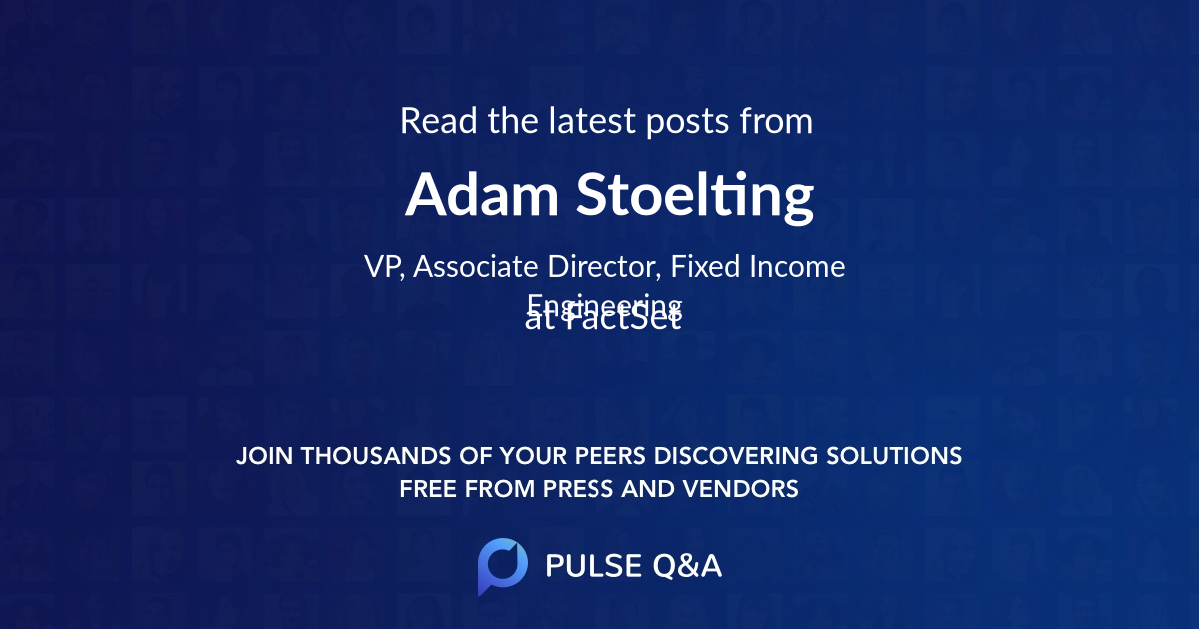 Adam Stoelting