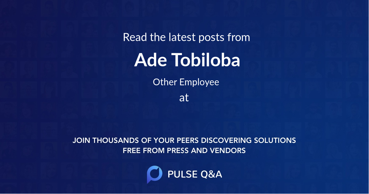 Ade Tobiloba