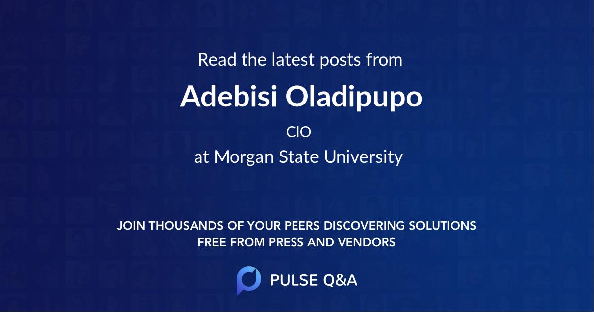 Adebisi Oladipupo