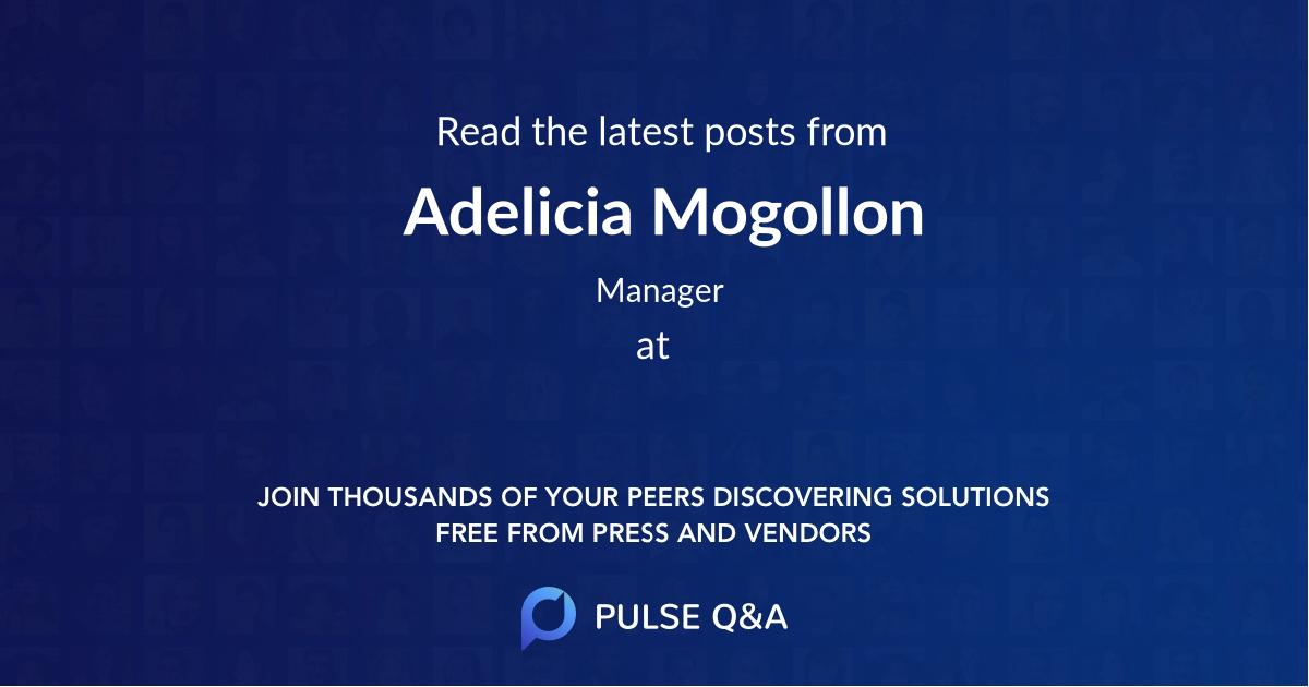 Adelicia Mogollon