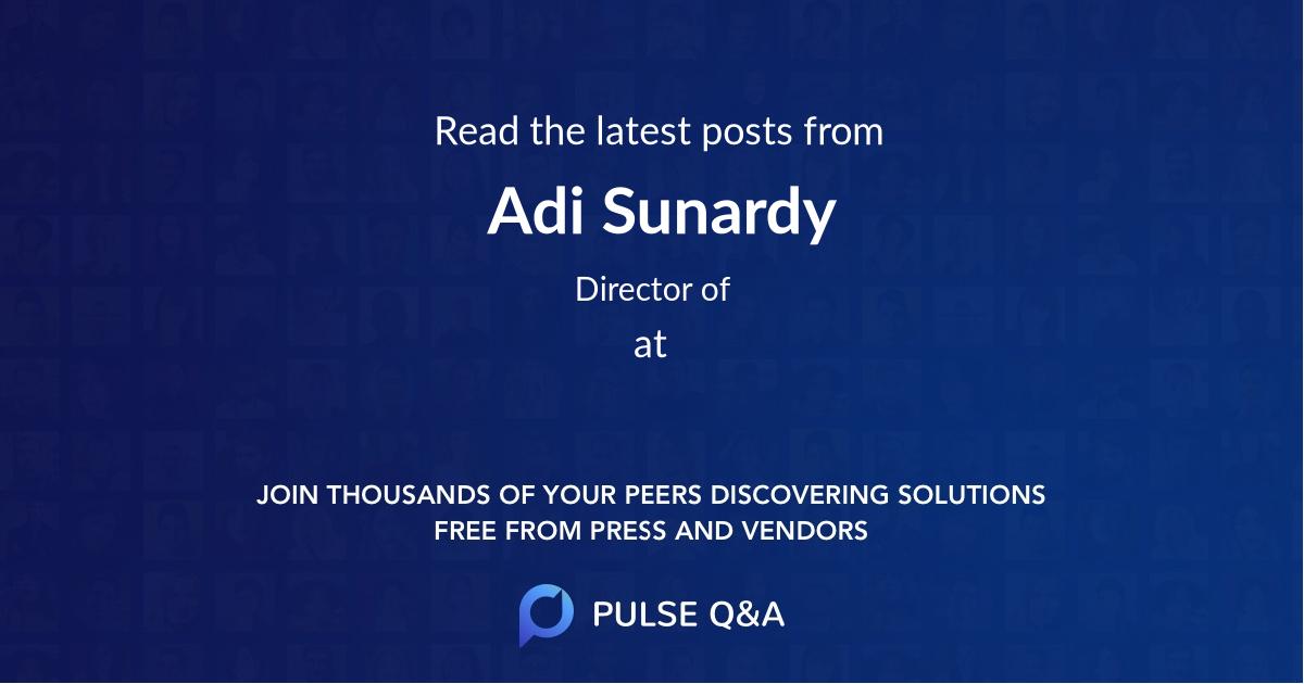 Adi Sunardy