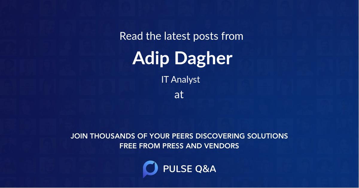 Adip Dagher