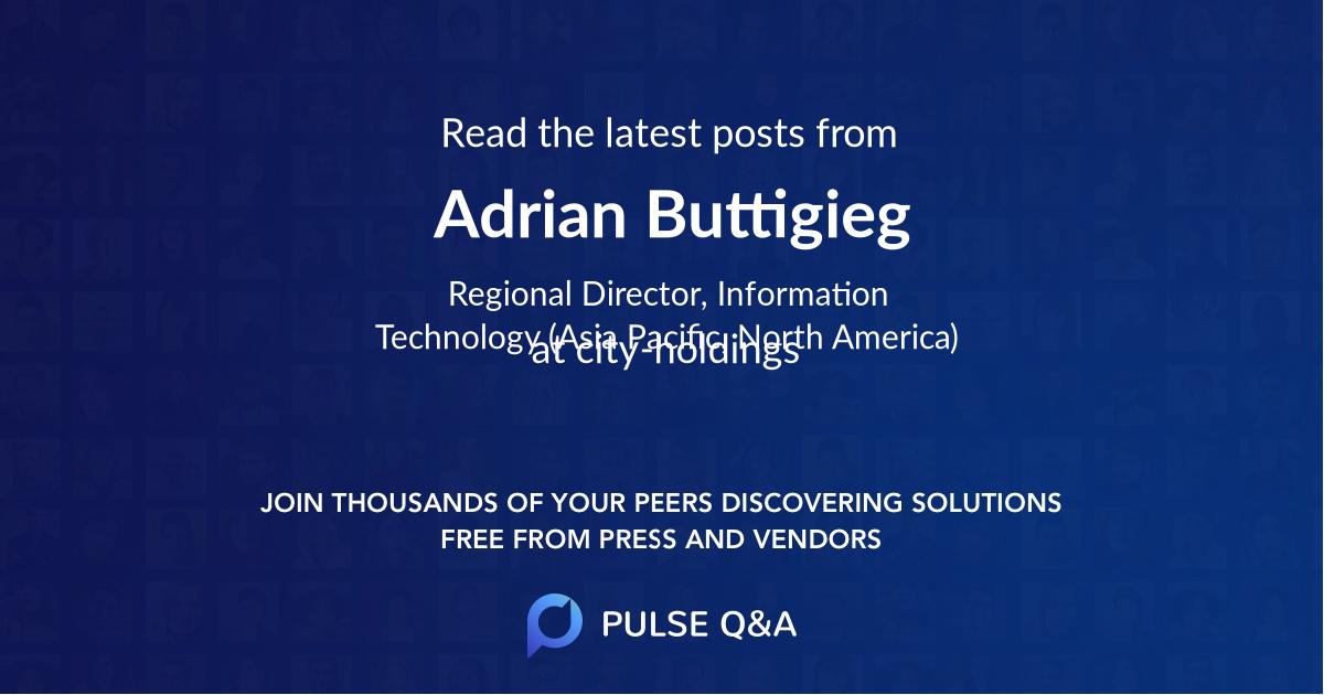 Adrian Buttigieg