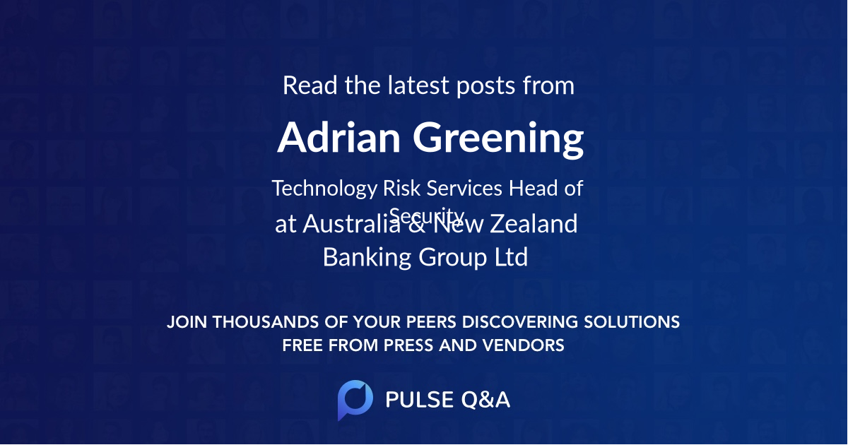 Adrian Greening