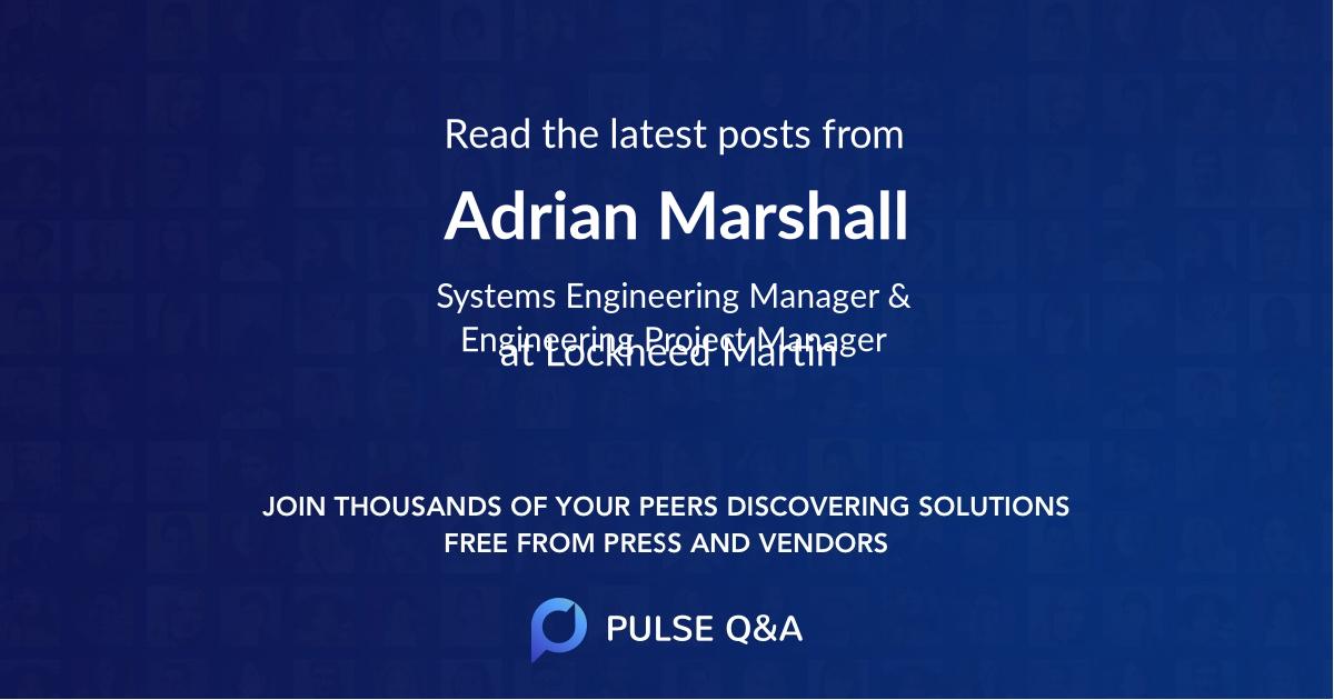 Adrian Marshall
