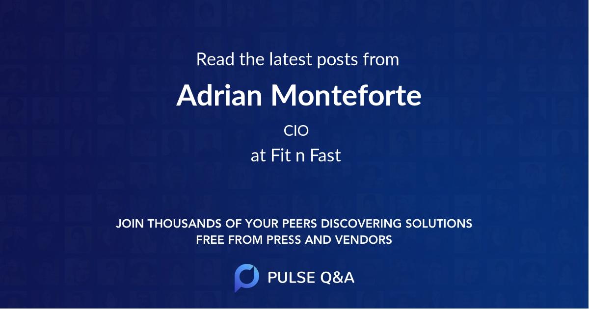 Adrian Monteforte