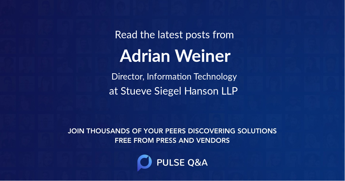 Adrian Weiner