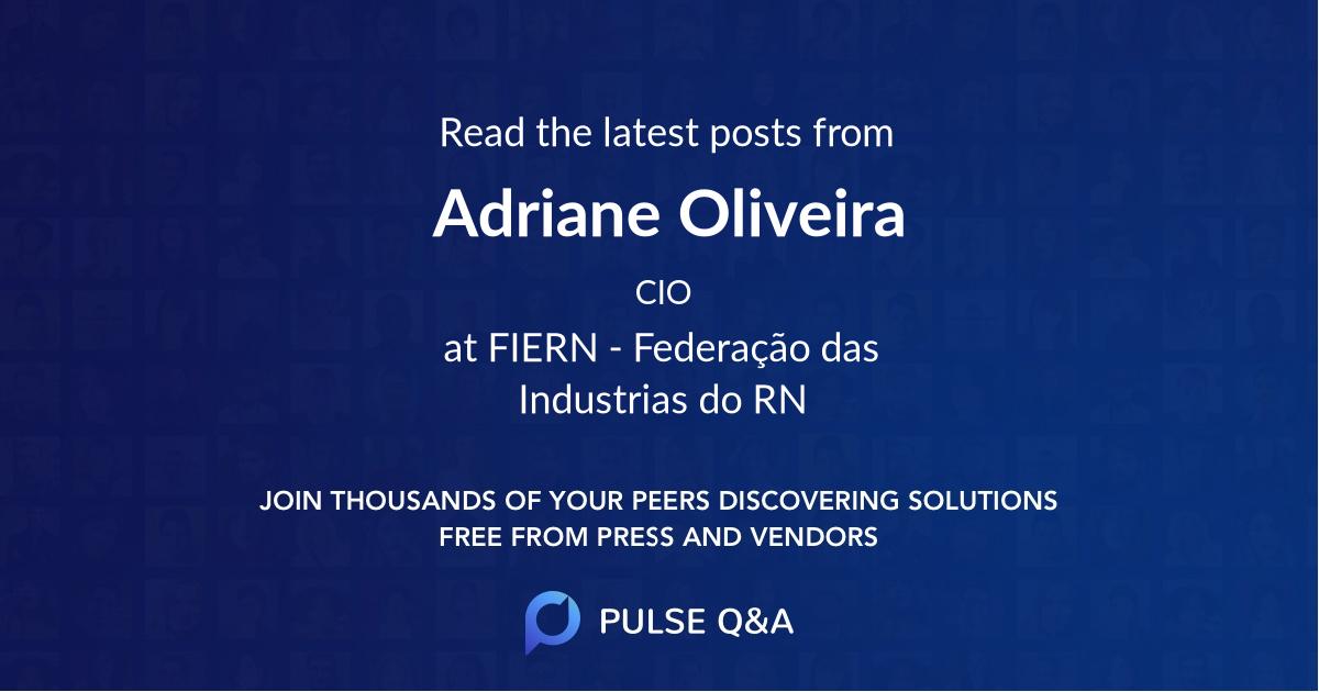 Adriane Oliveira