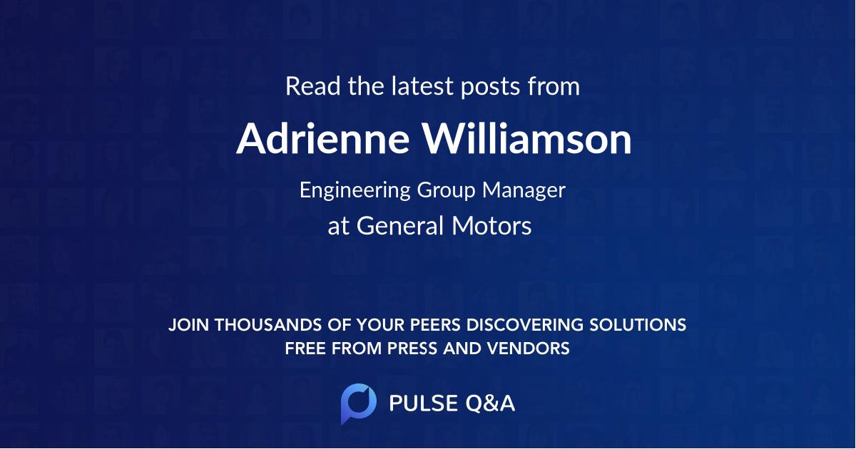 Adrienne Williamson