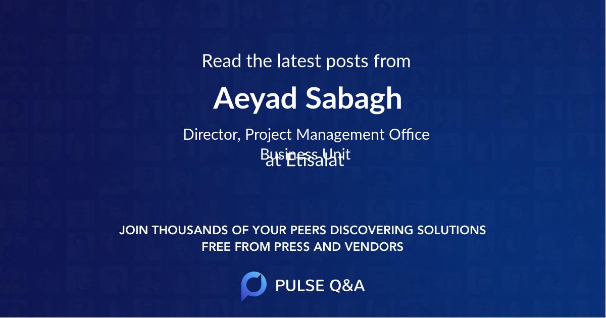 Aeyad Sabagh