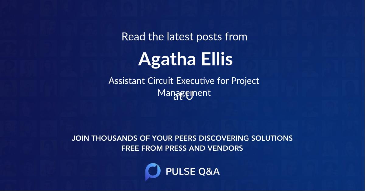 Agatha Ellis
