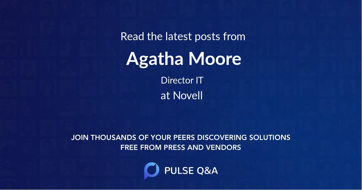 Agatha Moore
