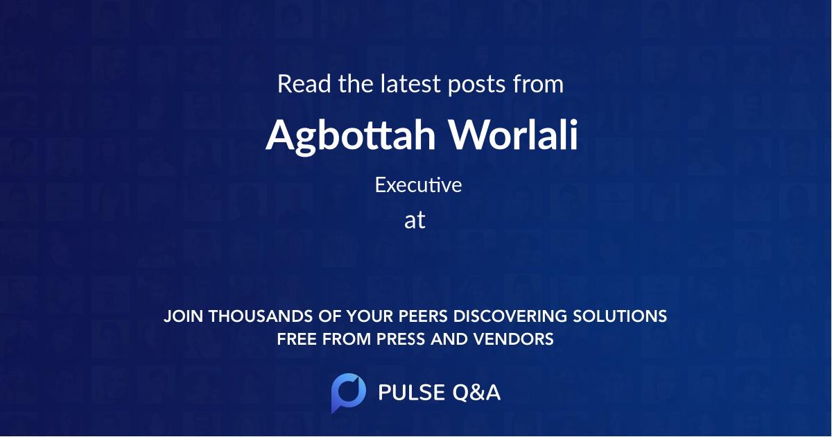 Agbottah Worlali