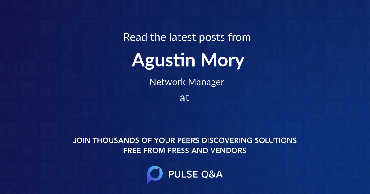 Agustin Mory