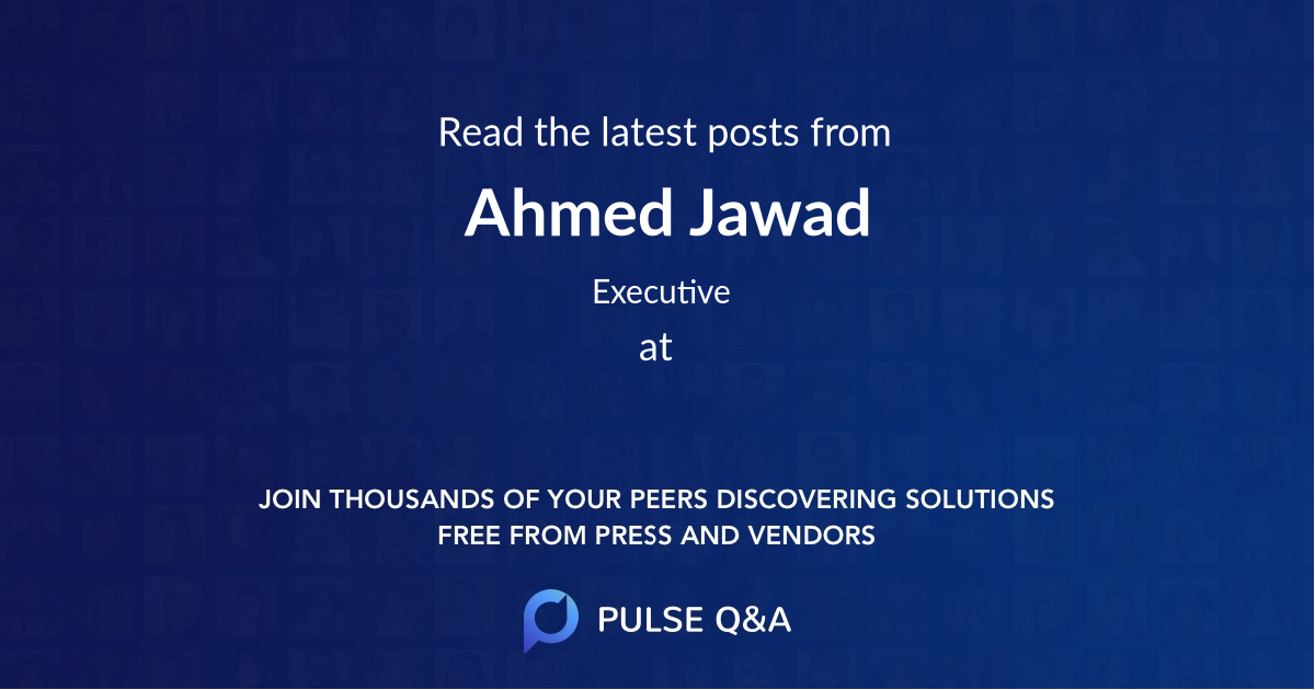Ahmed Jawad