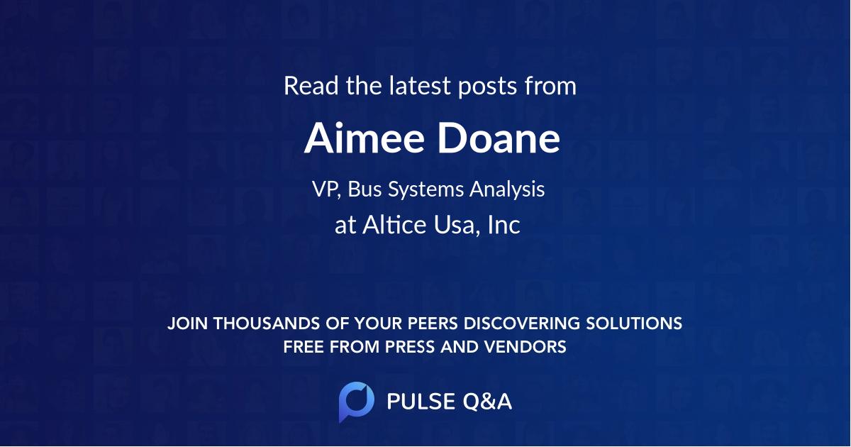Aimee Doane