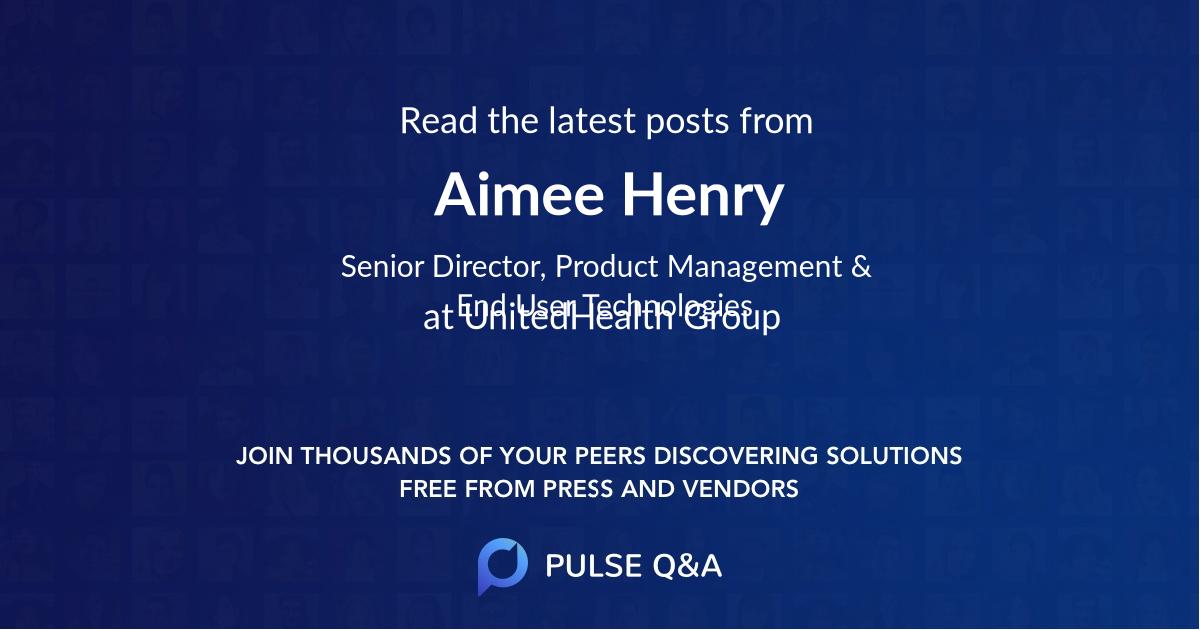 Aimee Henry