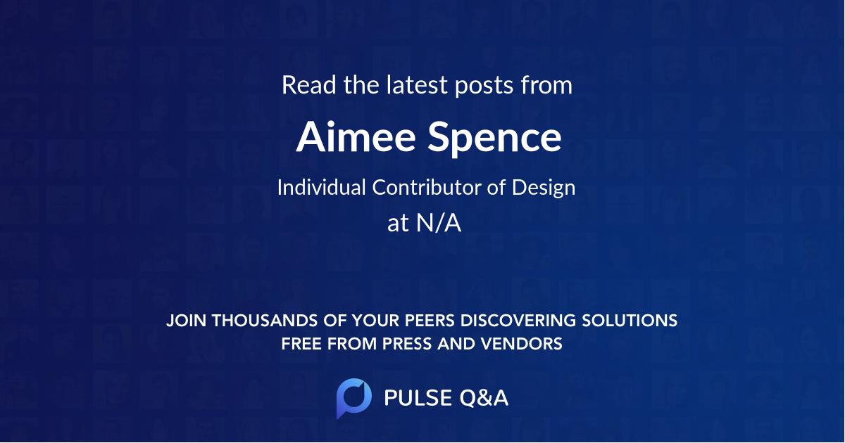 Aimee Spence