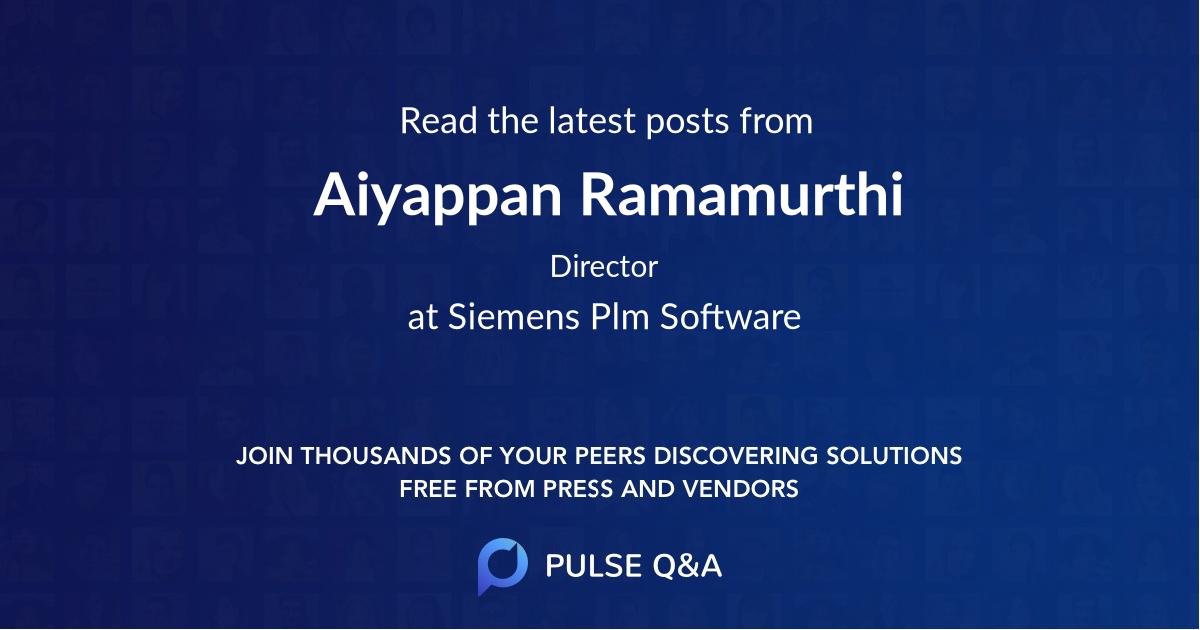Aiyappan Ramamurthi