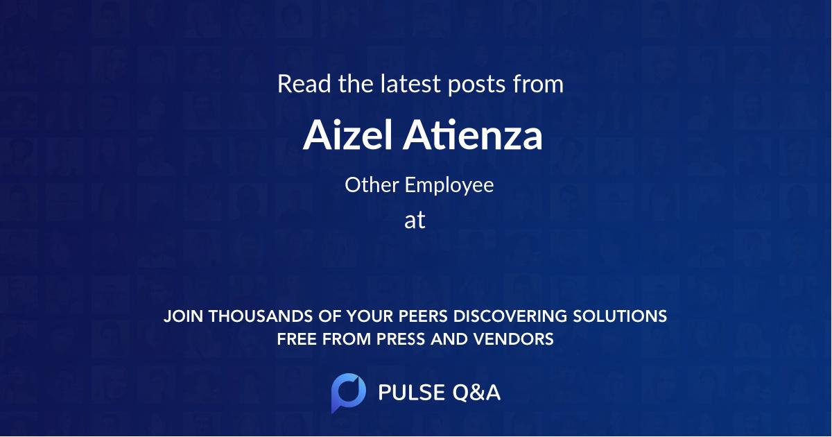 Aizel Atienza