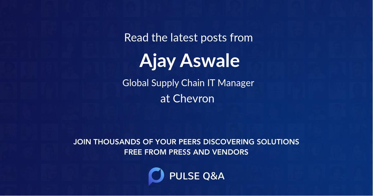 Ajay Aswale