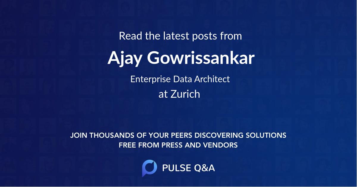 Ajay Gowrissankar