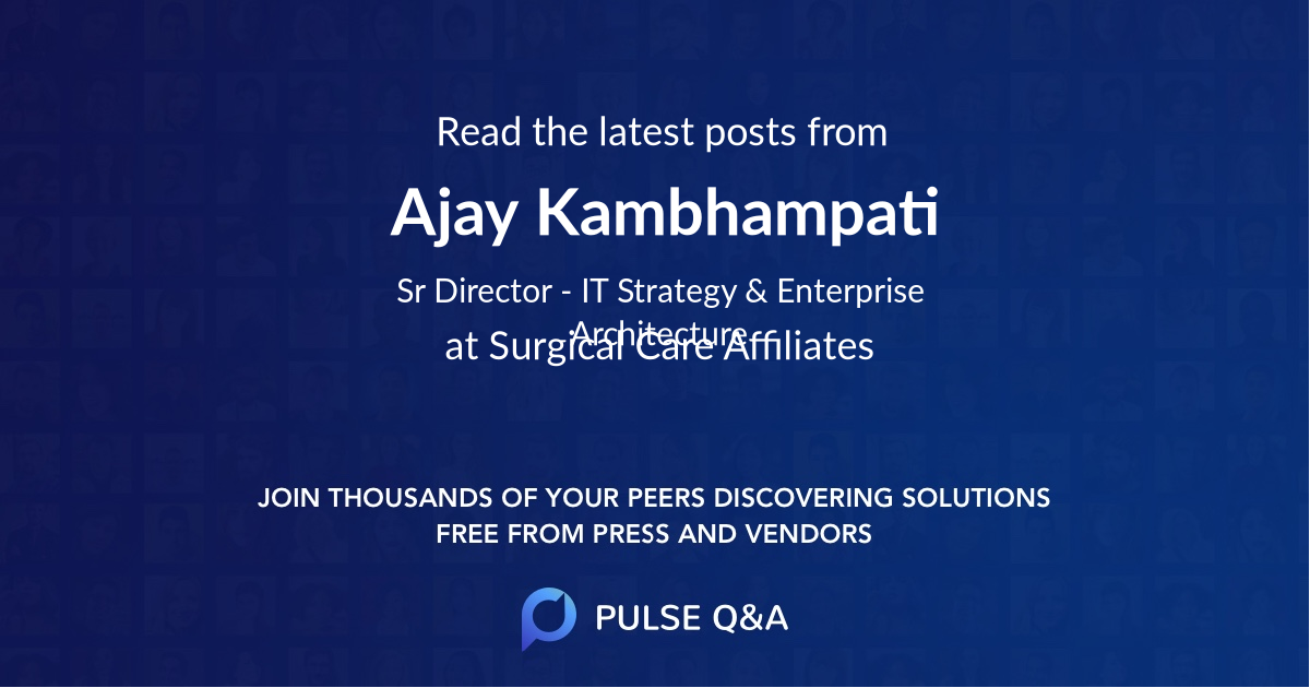 Ajay Kambhampati