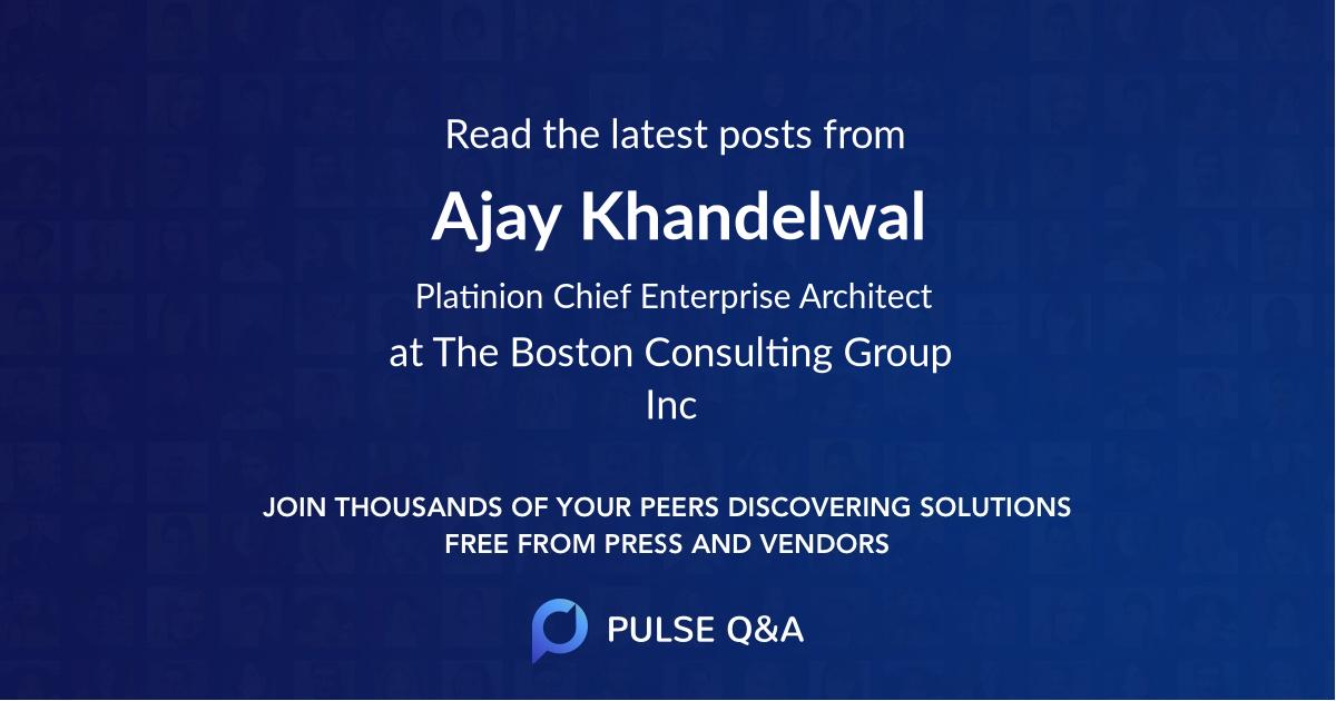 Ajay Khandelwal