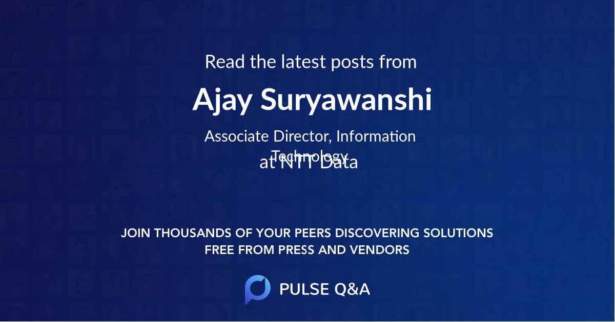Ajay Suryawanshi