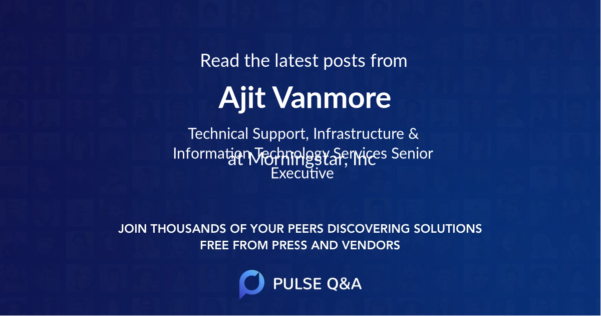 Ajit Vanmore