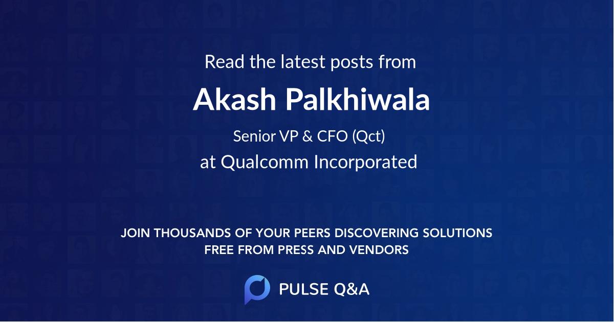 Akash Palkhiwala