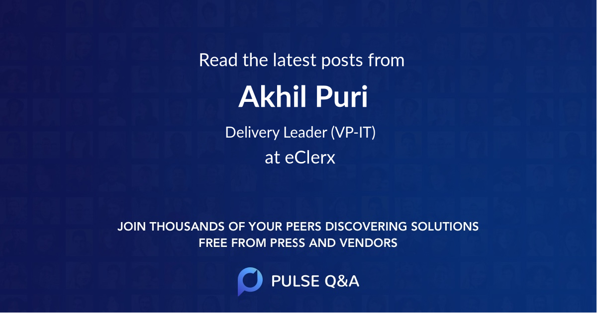 Akhil Puri