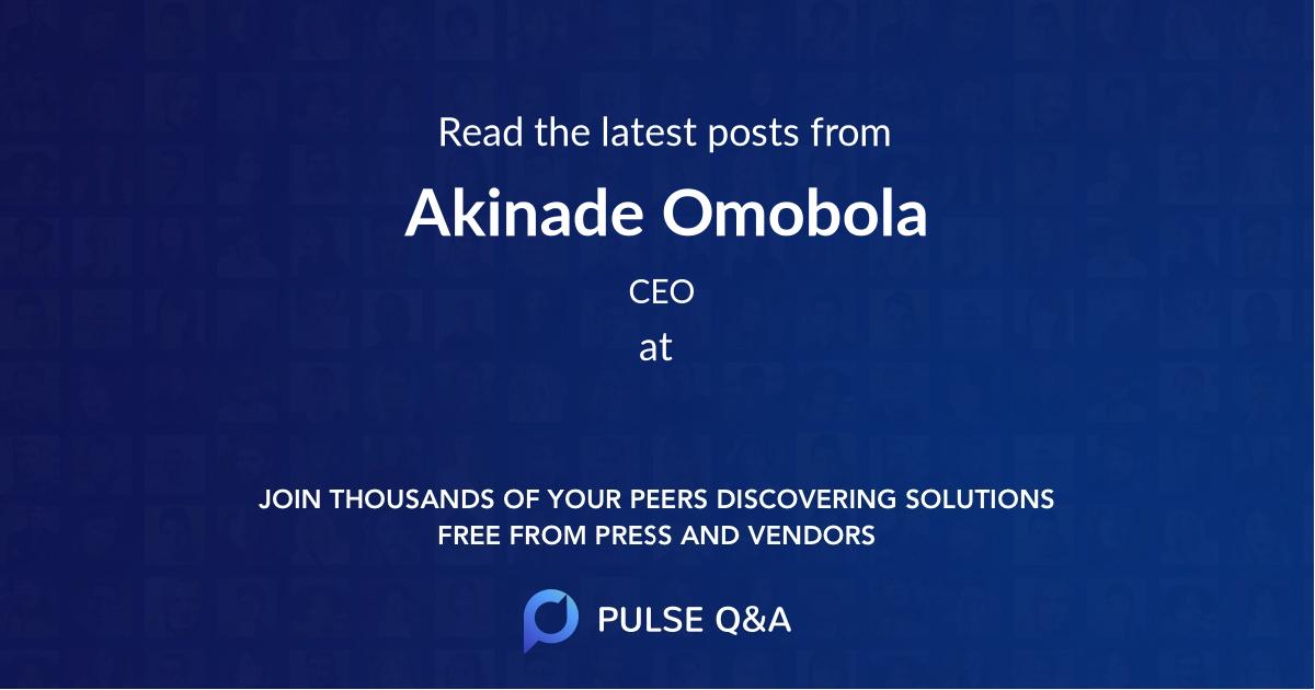 Akinade Omobola