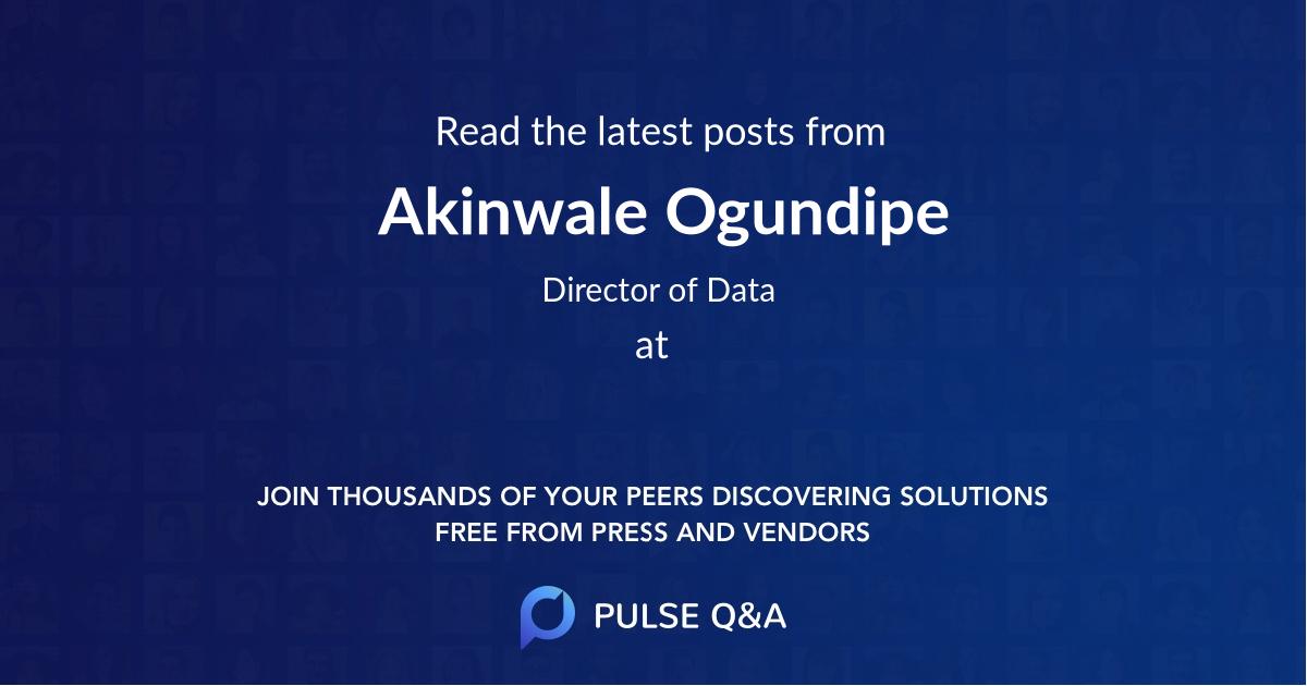 Akinwale Ogundipe