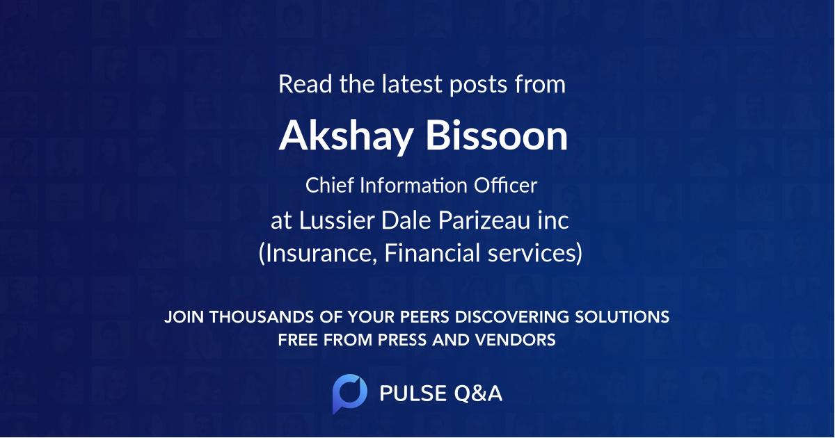Akshay Bissoon