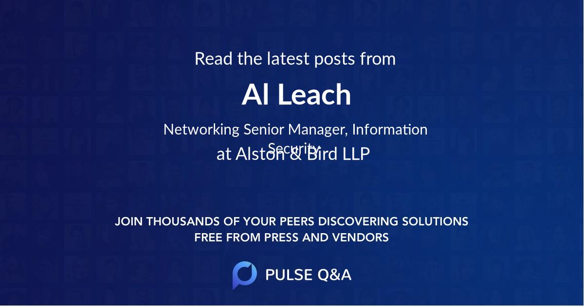 Al Leach