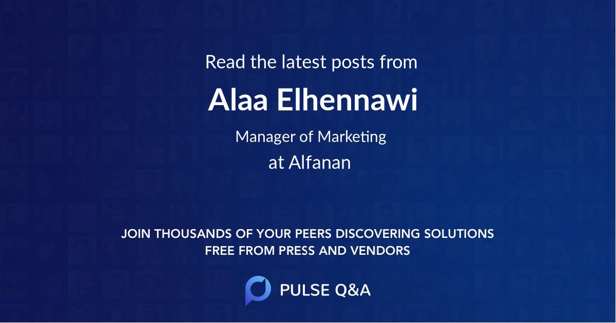Alaa Elhennawi