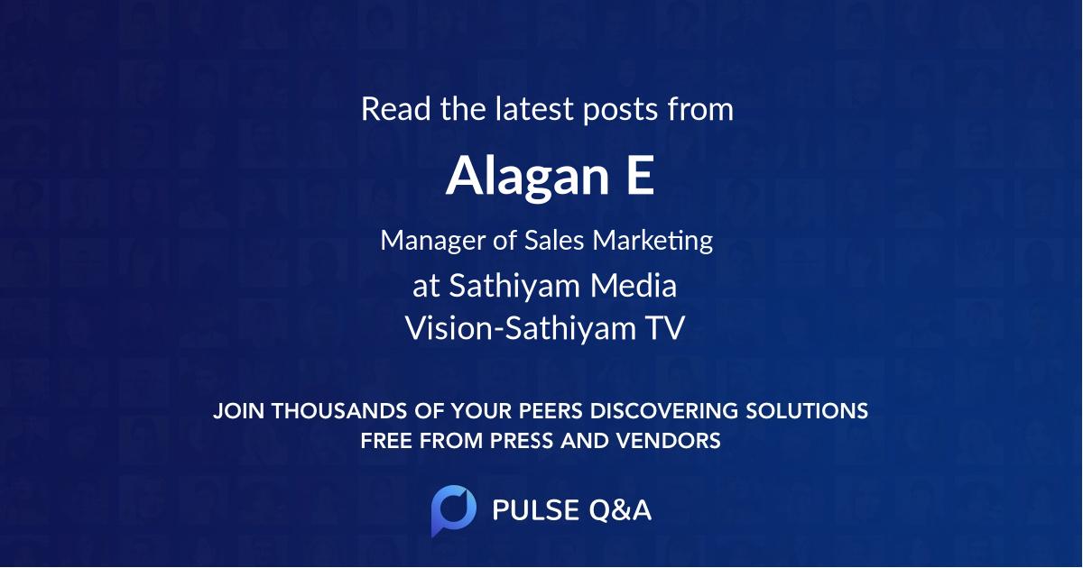 Alagan E