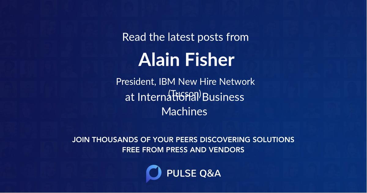 Alain Fisher